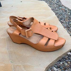 Anthropologie wedge sandals